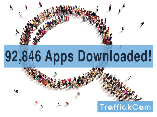 92,846 Apps Downloaded!