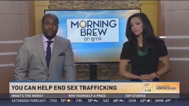 WHAS-11 TV: How you can help fight against human trafficking