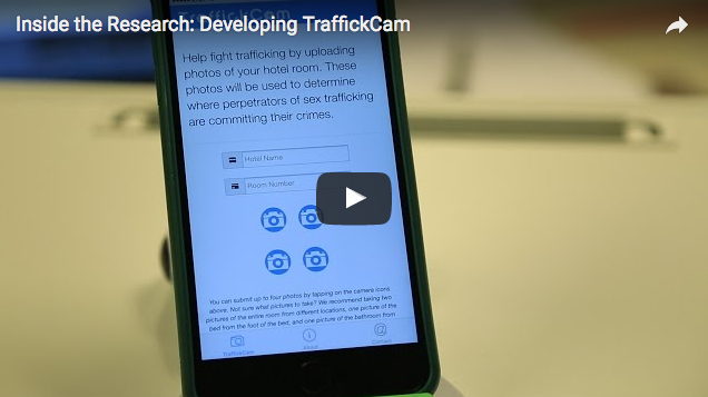 Inside the Research Video: Development of TraffickCam by Washington University in St. Louis